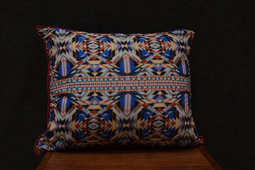 """""""Pedro's Blanket"""" Art Pillow by Libby Chadd"""