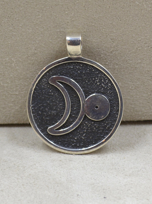 Sterling Silver Alchemy Pendant by Roulette 18
