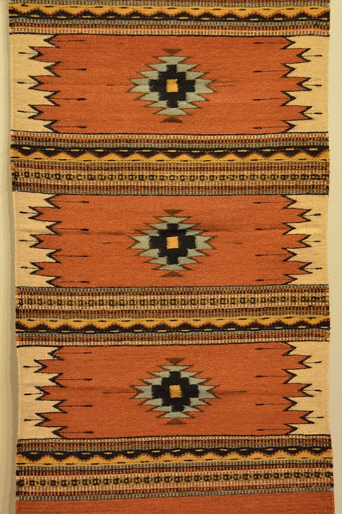 "Zapotec Candles Rug - 30"" X 60"""