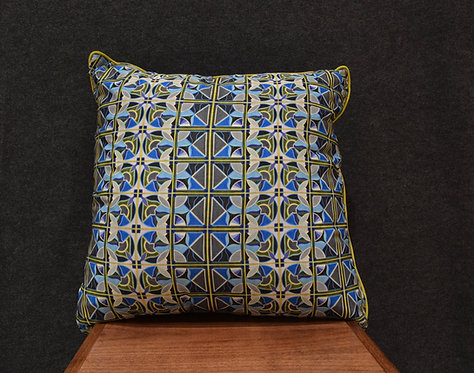 """""""Deco Pattern 24"""" Large Art Pillow by Libby Chadd"""