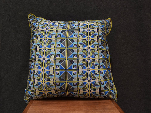 """Deco Pattern 24"" Large Art Pillow by Libby Chadd"