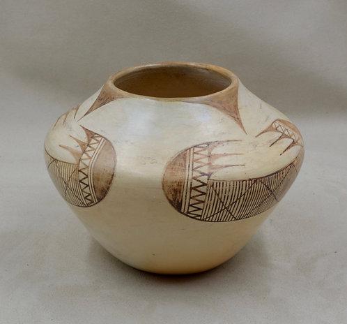 """Hopi Pueblo Pot - Tawa - 5"""" x 4 1/2"""""""
