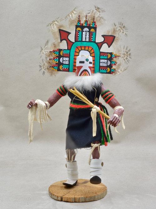 "Pahlik Mana, Navajo Kachina - 13"" x 3"""