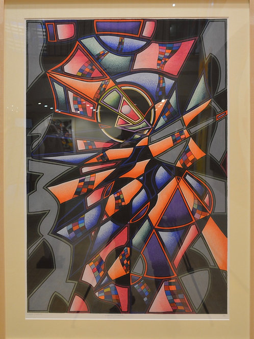 """Kabuki Tinker"" by Libby Chadd"