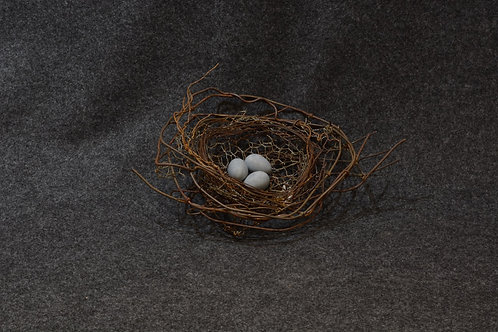 Handmade Metal Nest by Phil Lichtenhan