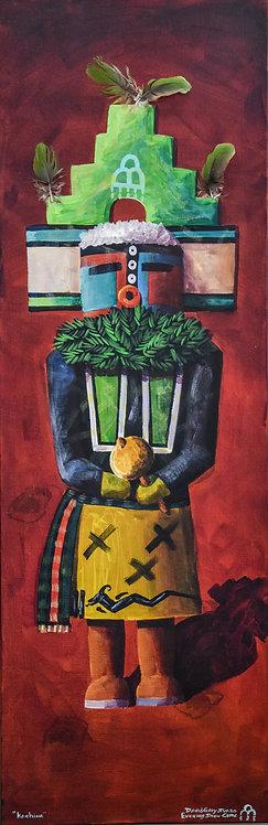 """""""Katsina"""" Acrylic on Canvas by David Gary Suazo"""