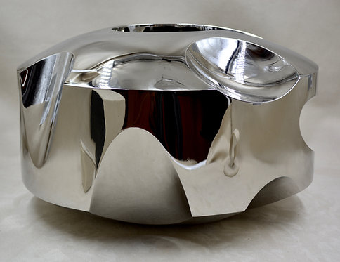 Bright Ring - 2003 - Stainless Steel Sculpture by Dave Larson
