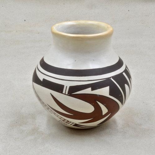 Hopi Pueblo Vase, Frog Woman - M & N Navasie, 1984