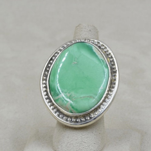 Utah Veracite Sterling Silver 7X Ring by Jerry Faires