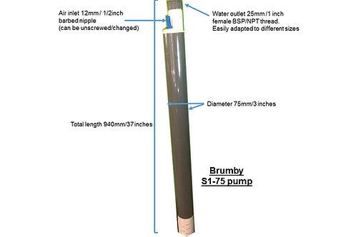 Brumby S1-75 pump