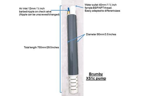 Brumby XS1c pump