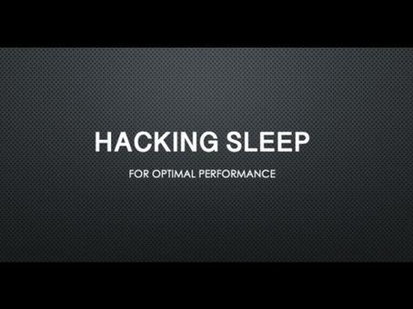 Sleep Hacks for Optimal Performance