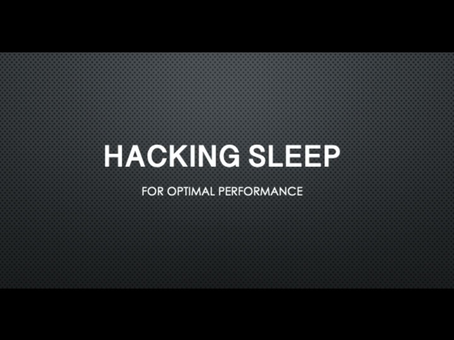 Sleep Hacks for Optimal Performance