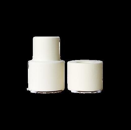 Ceramic Candlesticks (Set of 2)