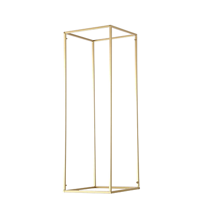 Gold Floral Stand