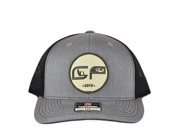 Gray/Black Patch Cap