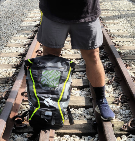 20L TPU Waterproof Backpack with reflective strip