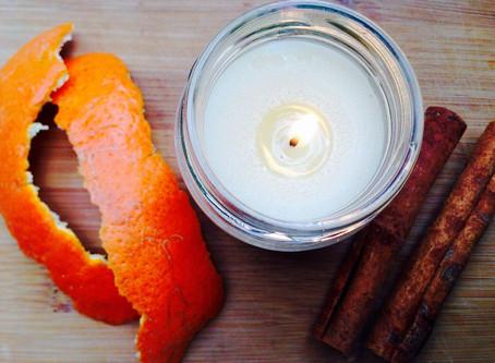 Lavender Citrus Massage Candle