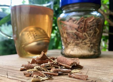 Sweet n' Spicy Tea for Respiratory Support
