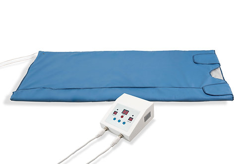 Infrared Sauna Blanket for Home and Indoor Personal Use. Portable 2 Zones Heated