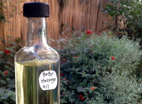 Baby Massage and Bath Oil