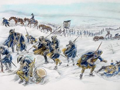 Karolinernes dødsmarsj – Stormen 12.-14. januar 1719