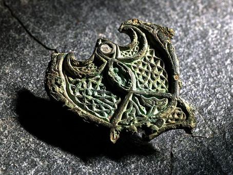 Seletøysbeslag/smykke fra Agdenes