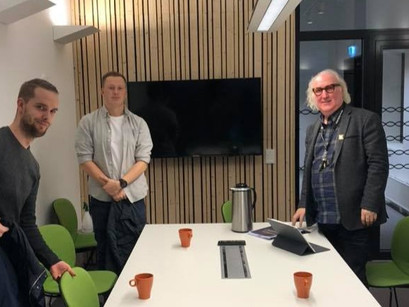 Møte med kultursjefen