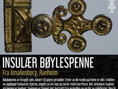Insulær relieffspenne fra Amalienborg, Ranheim