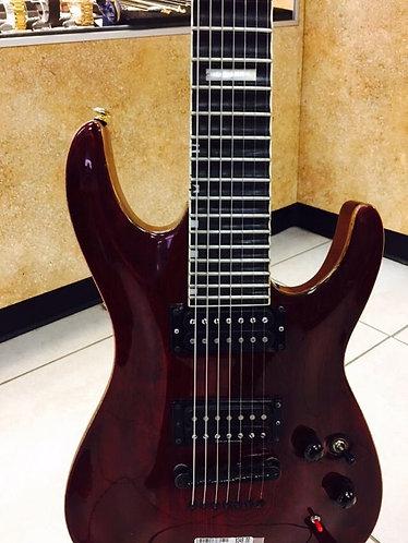 Burgundy 7-strings ESP LTD Electric Guitar