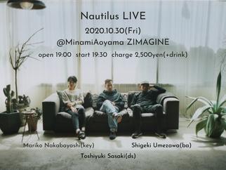 Oct. 30th(Fri) 2020 @MinamiAoyama ZIMAGINE