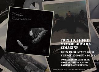Oct. 11th (Fri)@表参道ZIMAGINE