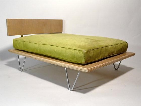 Mid-Century Platform Pet Bed