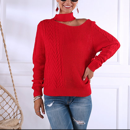 Rouge Cut Out Sweater