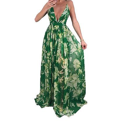 Greeniva  Maxi Backless dress