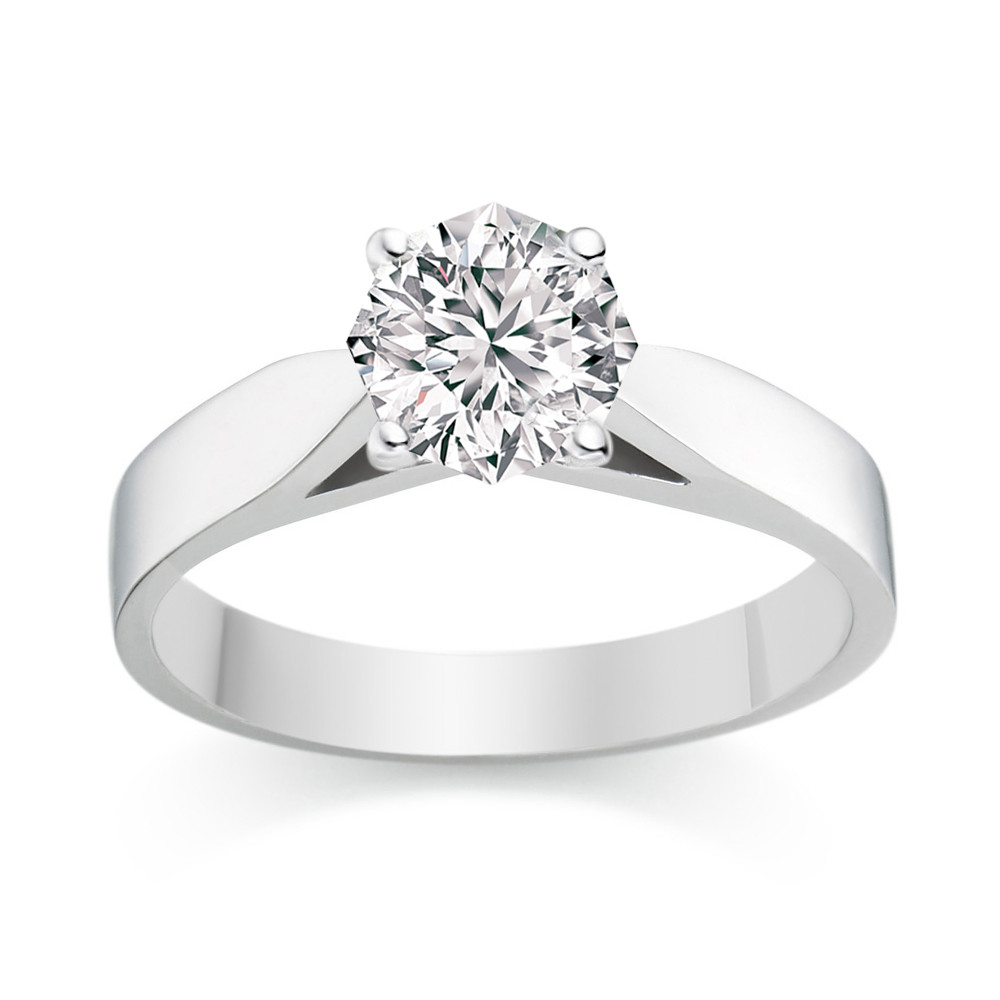 The Eighty-Eight diamond engagement ring