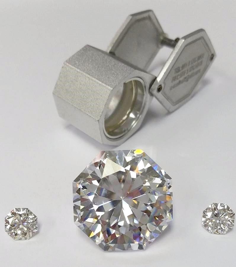 jeweler's diamond loupe