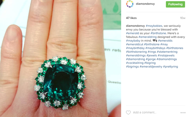 Diamond Envy instagram
