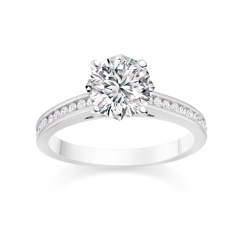 The Eighty-Eight Cut Diamond Engagement Ring