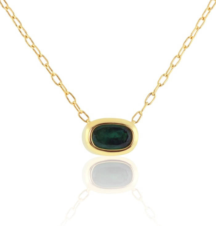 east/west emerald necklace