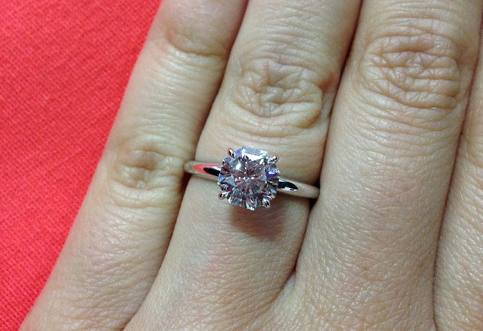 Eighty-Eight Engagement Ring
