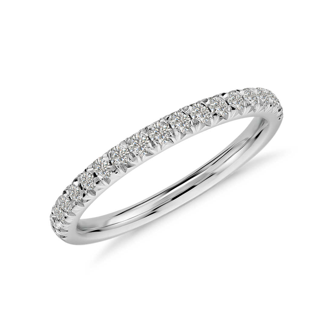 Petite Pave Diamond Ring