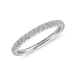 Petite Pave Diamond Ring