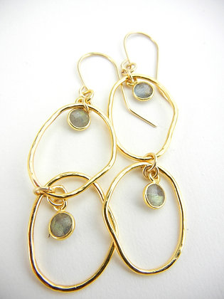 Celeste Earrings in Labordorite
