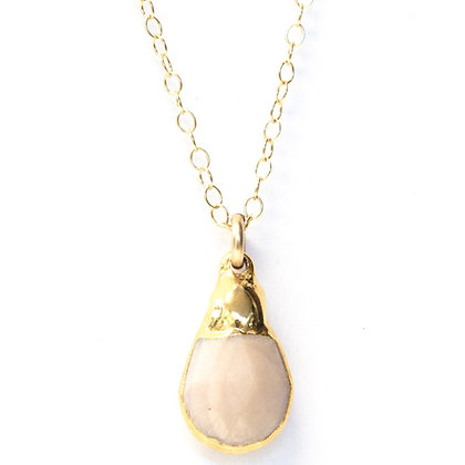 Eve Pink Opal Necklace- NG8234