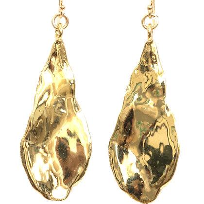 Grayson Leaf Earrings