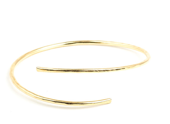 Gold Adjustable Cuff Bracelet- NG4151