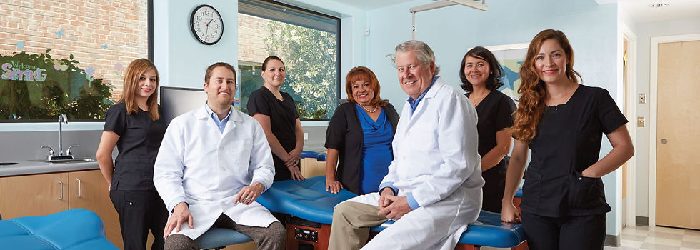 Davis Pediatric Dentists and staff