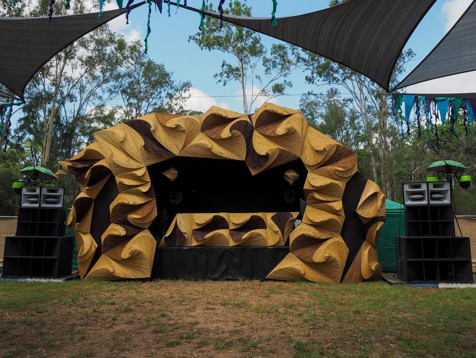 Subterran Stage Facade