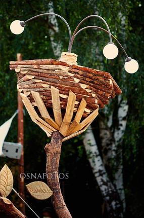 Spiral Flower Lamp